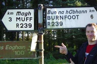 Muff, Ireland
