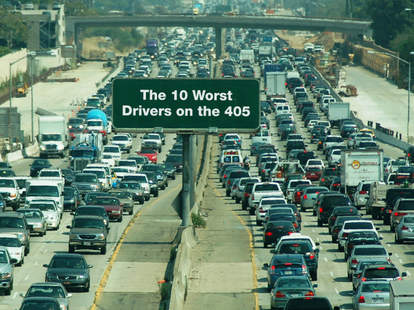 worst drivers 405 la