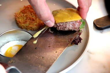 Burger at OneUp