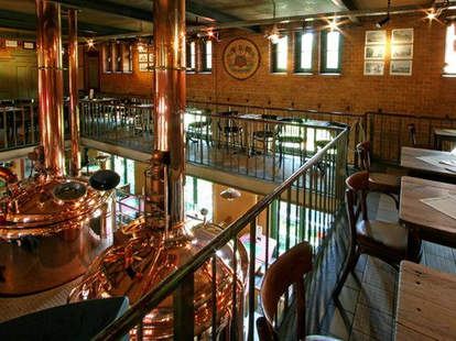 Inside the Brauhaus
