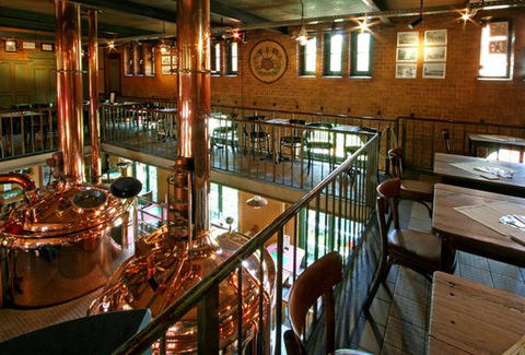 Inside the Brauhaus