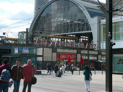 The Alexanderplatz Berlin