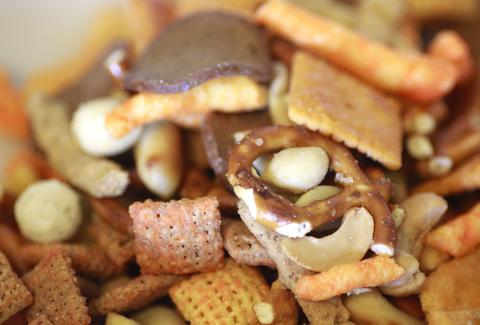 The ultimate snack mix.