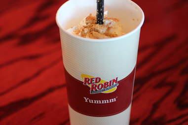 Red Robin pumpkin pie shake