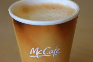McDonalds pumpkin spice latte