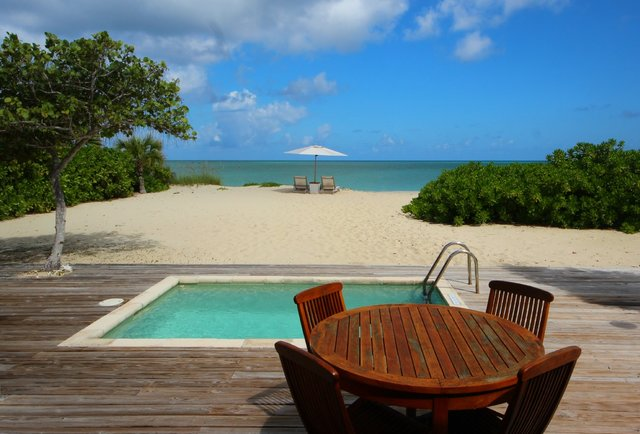 Your own private beach house in the Turks and Caicos
