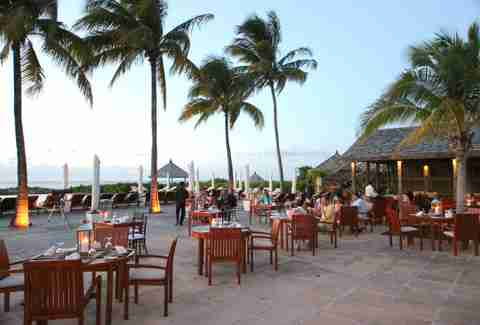Lotus restaurant at Parrot Cay by COMO