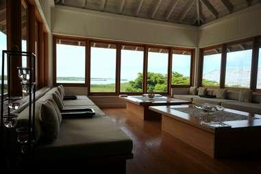 Shambhala spa at Parrot Cay by COMO