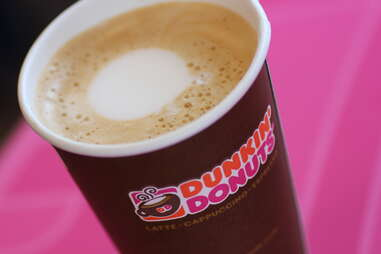 Dunkin Donuts pumpkin latte