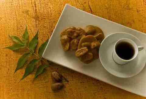 Pralines and coffee