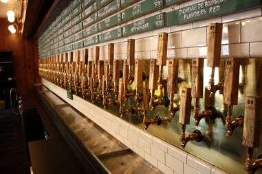 Banger's tap wall