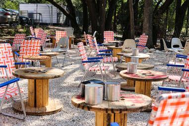 Austin Beer Garden exterior