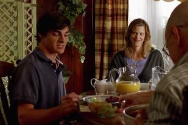 """Walt Jr breakfast """"Down"""" Breaking Bad"""