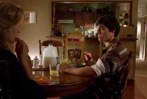 "Walt Jr breakfast ""Negro y Azul"" Breaking Bad"