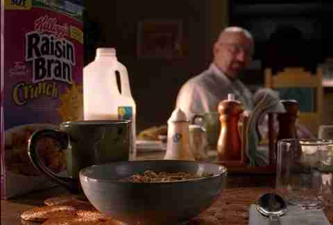 "Cereal breakfast ""Madrigal"" Breaking Bad"