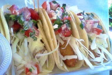 Jefe's original fish tacos