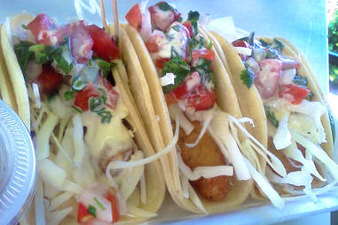 Jefe's original fish tacos