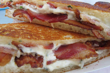 grilled blue and bacon, ms. cheezious
