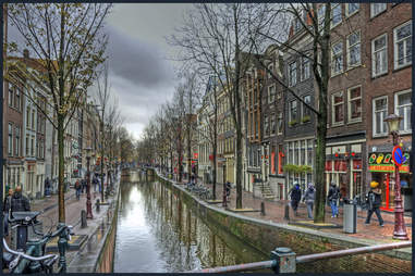 Amsterdam, Red Light District, Netherlands