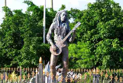 Bob Marley, Kingston, Jamaica