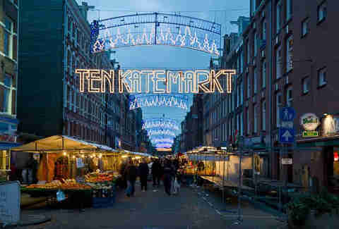 The Ten Kate Market Amsterdam