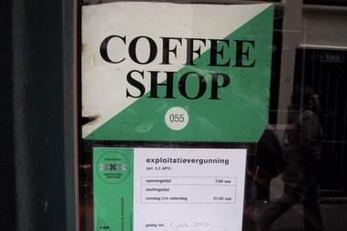 Coffee shop license Amsterdam