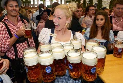 See Who's Going to Oktoberfest by the Bay in San Francisco, CA! Oktoberfest by the Bay is a fun and traditional German party with plenty of beer and merry-making. Festivities at the event include musical performances, singing, dancing and top-quality German food and brews.4/5.