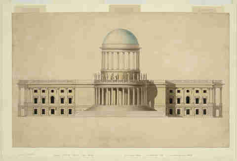 Unbuilt Washington D.C. U.S. Capitol Building image