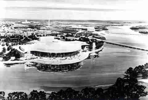 Unbuilt Washington D.C. Kennedy Center image