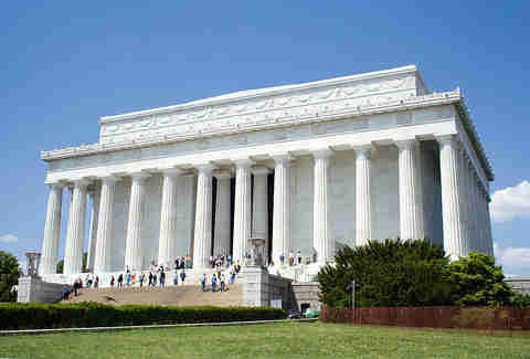 Unbuilt Washington D.C. Lincoln Memorial image