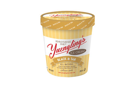 Yuengling Black and Tan ice cream