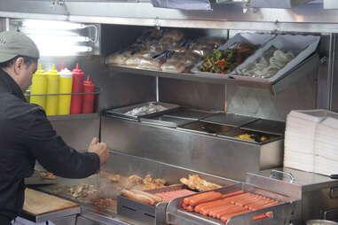 street meat vendor
