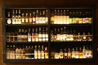 The bar at Mosto