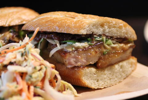 Pork Belly Sandwich at Jambar
