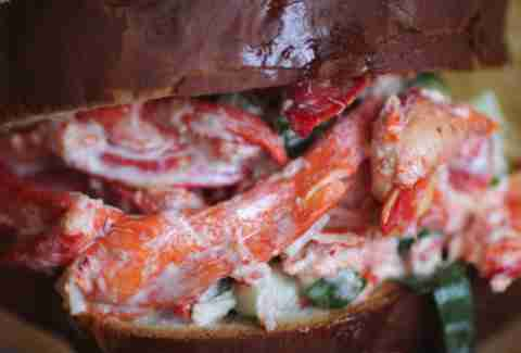 Connecticut-Style Lobster Roll at Smack Shack - MSP