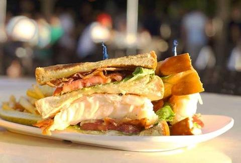 Lobster BLT, Monty's Sunset - Miami