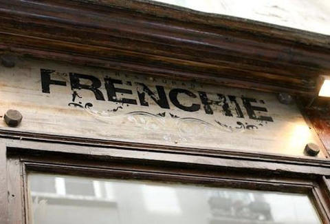 Sign at Frenchie Paris