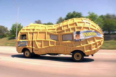planters nuts truck