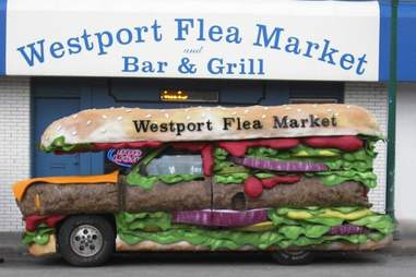 westport flea market bar and grill truck sandwich