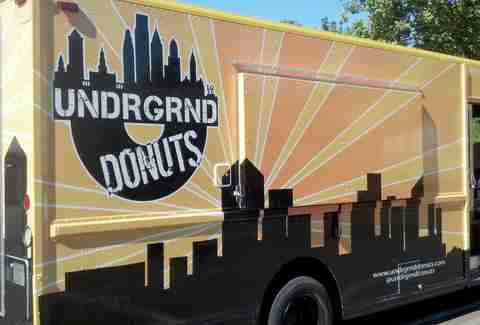 The Undrgrnd Donuts truck at Drexel