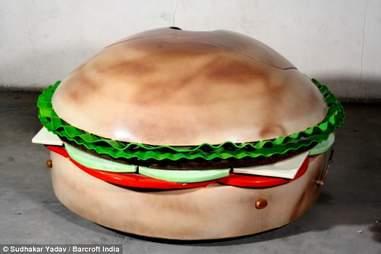burger car india